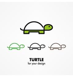 Turtle icon vector image vector image