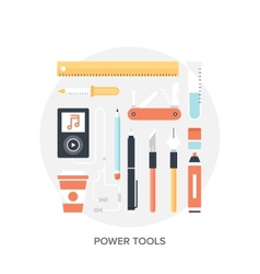 Design tools vector image
