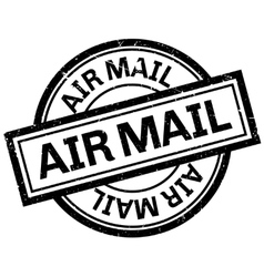 Air mail rubber stamp vector image