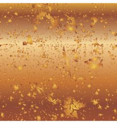 background bronze vector image vector image