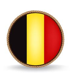 Belgium seal vector