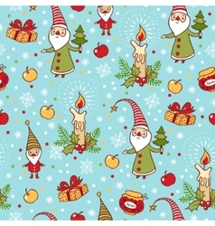 Bright holiday pattern vector image