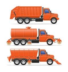 cargo truck 20 vector image vector image