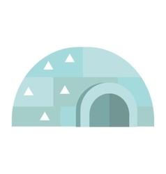 Eskimo house vector