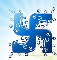 Swastik symbol vector