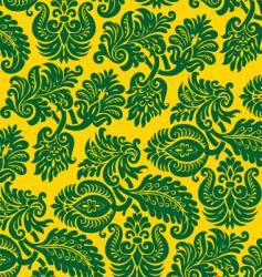 vintage flowers pattern vector image
