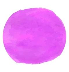 Violet magenta watercolor vector image vector image