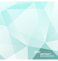 Abstract Blue - Green Geometric Background vector image