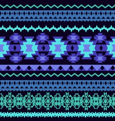 beautifu Striped Tribal ethnic seamless pattern vector image