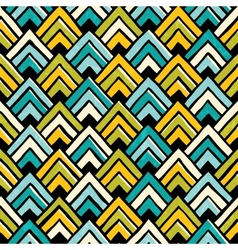 Hand drawn seamless colorful pattern vector image