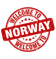 Welcome to norway vector