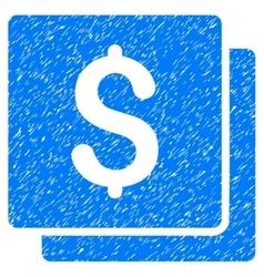 Finances grainy texture icon vector