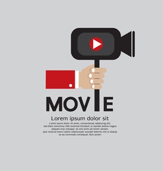 Movie maker eps10 vector