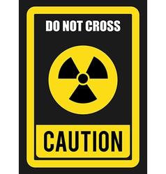 Caution design vector