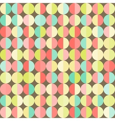 Geometric abstract background with colorful vector