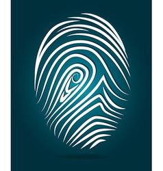 Finger design vector