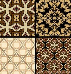 Textured background set vector
