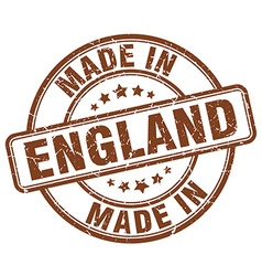 Made in england vector