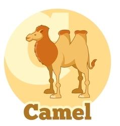 ABC Cartoon Camel2 vector image vector image