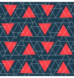 Abstract background geometric seamless pattern vector