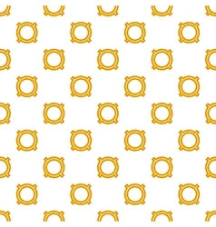 Generic currency symbol pattern cartoon style vector