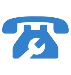 Service Phone Icon vector image