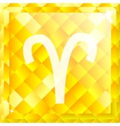 Zodiac Aries vector image vector image