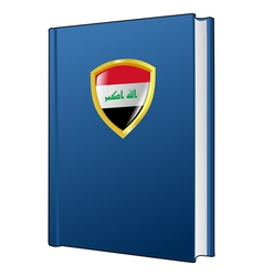 constitution of Iraq vector image vector image