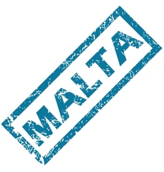 Malta rubber stamp vector image vector image