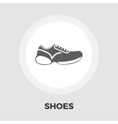 Shoes icon flat vector image