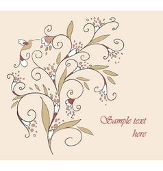 Floral element for your design vector