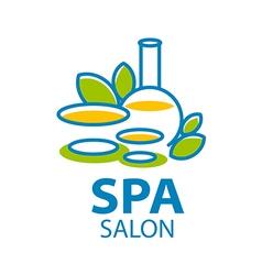 Abstract logo for Spa salon vector image