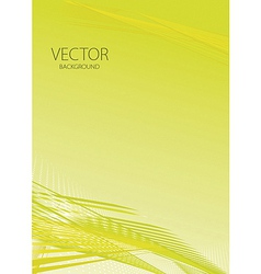 Abstract smooth light lines vector image