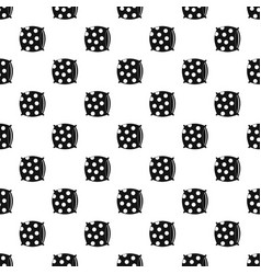 Pillow with dots pattern vector