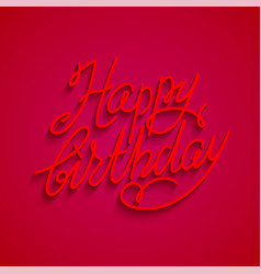 Red holiday card vector
