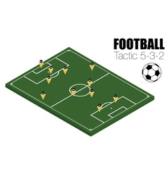 Soccer strategy formation type vector