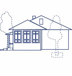 House project vector