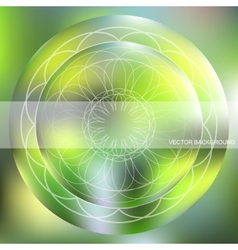 Background with a circular pattern vector