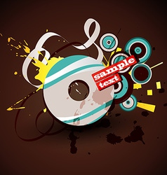Abstract cd vector