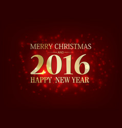 merry christmas bright festive template vector image vector image