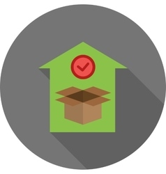 Valid delivery of package vector