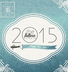 2015 celebration background vector image