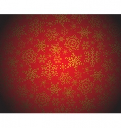 Red and golden christmas pattern vector