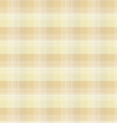 Beige tartan plaid background vector