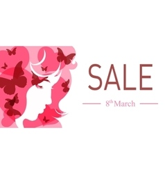 International womens day banner vector