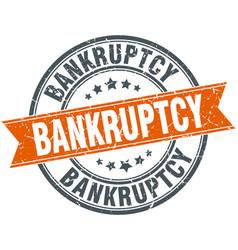 Bankruptcy vector