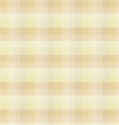 Beige tartan plaid background vector