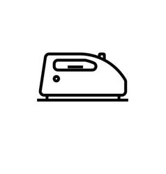 iron icon vector image