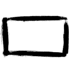 Paint border vector