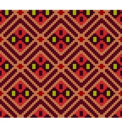 Ethnic geometric ornament pattern background vector